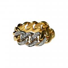 Tiffany Co Tiffany Chain Ring - 446010