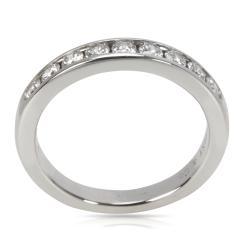 Tiffany Co Tiffany Co 9 Stone Diamond Wedding Band in Platinum 0 45 CTW - 1708451