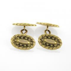 Tiffany Co Tiffany Co Antique Gold Cuff Links - 146526