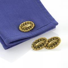 Tiffany Co Tiffany Co Antique Gold Cuff Links - 146527