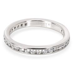 Tiffany Co Tiffany Co Channel Diamond Wedding Band in Platinum 0 40 CTW  - 1708424