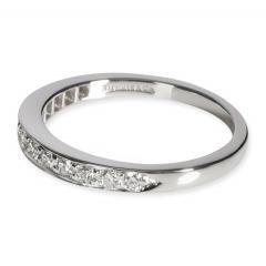 Tiffany Co Tiffany Co Diamond Wedding Band in Platinum 0 33 CTW - 1708594