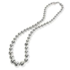 Tiffany Co Tiffany Co Hardware Ball Necklace in Sterling Silver - 1709261