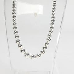 Tiffany Co Tiffany Co Hardware Ball Necklace in Sterling Silver - 1709272