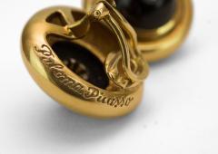 Tiffany Co Tiffany Co Onyx and Diamond Earrings - 154071