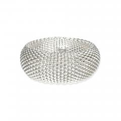 Tiffany Co Tiffany Co Somerset Mesh Bangle in Sterling Silver - 1709455