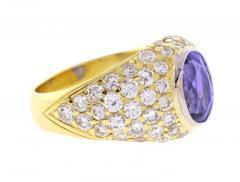 Tiffany Co Tiffany Co Tanzanite and Diamond Ring - 458324