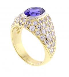 Tiffany Co Tiffany Co Tanzanite and Diamond Ring - 458328