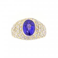 Tiffany Co Tiffany Co Tanzanite and Diamond Ring - 462342