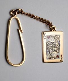 Tiffany Co Tiffany King of Hearts Key Chain - 502416