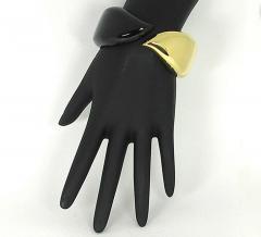 Tiffany Co Tiffany and Co Onyx and Gold Bracelet - 80076
