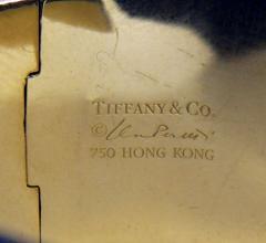 Tiffany Co Tiffany and Co Onyx and Gold Bracelet - 80077