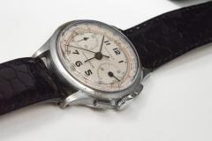 Tiffany and Co 1940s Tiffany Chronograph Telemeter Stainless Steel Aviation Wristwatch - 867757