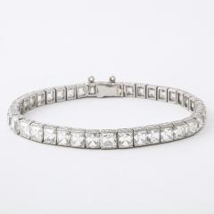 Tiffany and Co Antique French cut Diamond Bracelet by Tiffany Co  - 846007