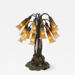 Tiffany and Co Eighteen Light Lily Tiffany Lamp - 626572