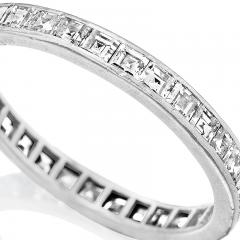 Tiffany and Co Platinum Ring with Diamonds by Tiffany Co  - 1304044