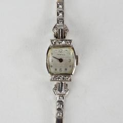 Tiffany and Co Tiffany 14k White Gold Ladies Wristwatch - 1173047