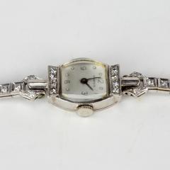 Tiffany and Co Tiffany 14k White Gold Ladies Wristwatch - 1173050