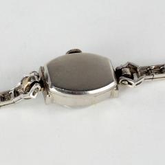 Tiffany and Co Tiffany 14k White Gold Ladies Wristwatch - 1173052