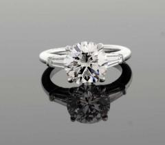 Tiffany and Co Tiffany Co 2 27 Carat Diamond Solitaire Engagement Ring - 1264946