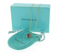 Tiffany and Co Tiffany Co Amethyst Sparkler Gold Pendant - 1159793