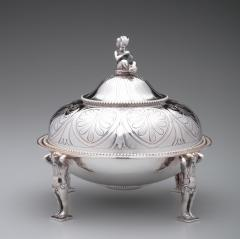 Tiffany and Co Tiffany Co Antique Sterling Covered Butter Dish 1865 70 - 1344873