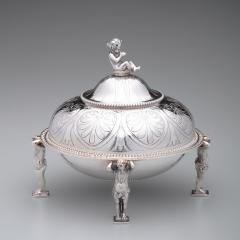 Tiffany and Co Tiffany Co Antique Sterling Covered Butter Dish 1865 70 - 1344884