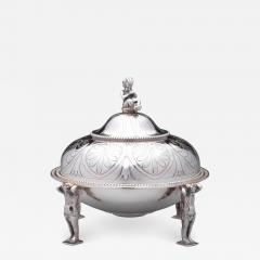 Tiffany and Co Tiffany Co Antique Sterling Covered Butter Dish 1865 70 - 1346162