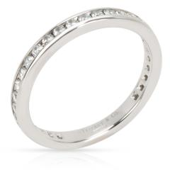 Tiffany and Co Tiffany Co Diamond Eternity Band in Platinum 0 56 CTW - 1284494