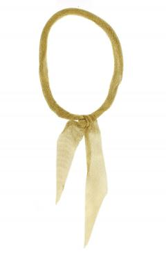 Tiffany and Co Tiffany Co Elsa Peretti Gold Mesh Scarf Necklace - 1263644