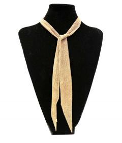 Tiffany and Co Tiffany Co Elsa Peretti Gold Mesh Scarf Necklace - 1263645