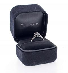 Tiffany and Co Tiffany Co Emerald Cut Diamond Solitaire Engagement Ring - 1465921
