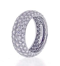 Tiffany and Co Tiffany Co Etoile Five Row Diamond Band Ring - 1425228