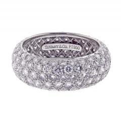 Tiffany and Co Tiffany Co Etoile Five Row Diamond Band Ring - 1425229