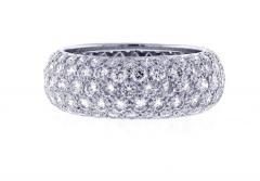 Tiffany and Co Tiffany Co Etoile Five Row Diamond Band Ring - 1425235