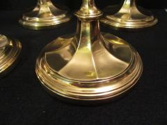 Tiffany and Co Tiffany Co Gold Plated Sterling Silver Candlesticks - 1178756