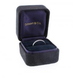 Tiffany and Co Tiffany Co Novo Diamond Wedding Band Ring - 1094561