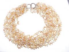 Tiffany and Co Tiffany Co Paloma Picasso Multi Strand Pearl Torsade Necklace - 1028894
