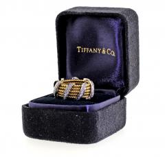 Tiffany and Co Tiffany Co Schlumberger Five Row Diamond Gold Wrap Band Ring - 746948