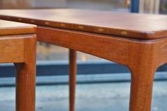Tingstroms Stunning Pair of Solid Teak Micado Side Tables by Tingstroms - 2133709