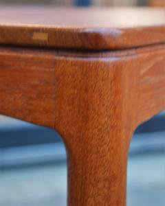Tingstroms Stunning Pair of Solid Teak Micado Side Tables by Tingstroms - 2133711