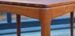 Tingstroms Stunning Pair of Solid Teak Micado Side Tables by Tingstroms - 2133725