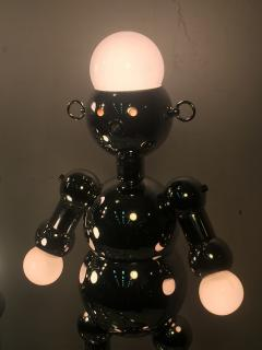 Torino Lamp Co GREAT PAIR OF MODERNIST CHROME ROBOT LAMPS BY TORINO - 678953