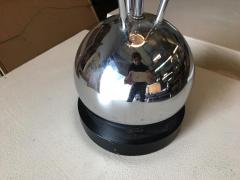 Torino Lamp Co Space Age Chrome Ball Table Lamp w Fours lights Attributed to Torino - 1348183