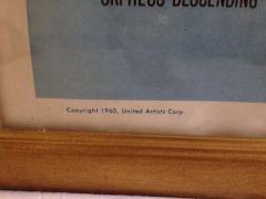 United Artists Original The Fugitive Kind Movie Poster - 95072