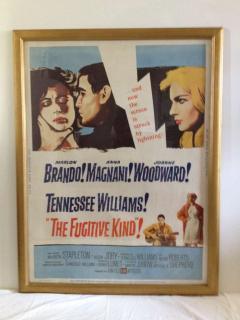 United Artists Original The Fugitive Kind Movie Poster - 95073