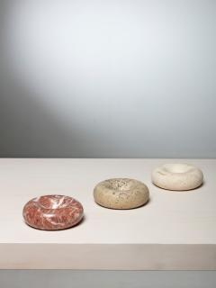 Up Up Set of Three Stone Centerpieces by Giusti and Di Rosa for Up Up - 1205291