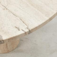 Up Up Up Up travertine dining table UP UP Italy c1970 - 1121644