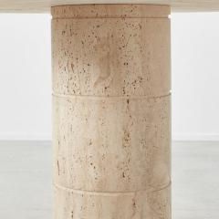 Up Up Up Up travertine dining table UP UP Italy c1970 - 1121646