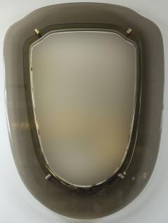 VECA Italian Mid Century Grey Mirror - 1073088